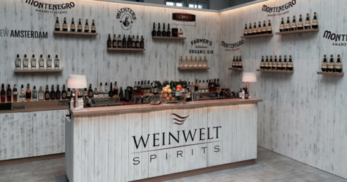 WEINWELT SPIRITS Messestand