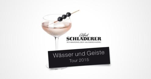 """Alfred Schladerer """"Wässer und Geiste Tour"""""""
