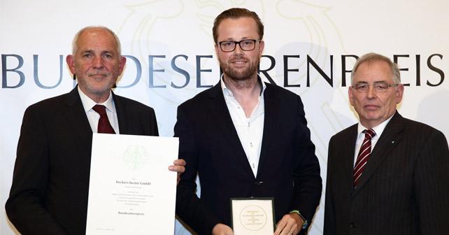 beckers bester Bundesehrenpreis 2015