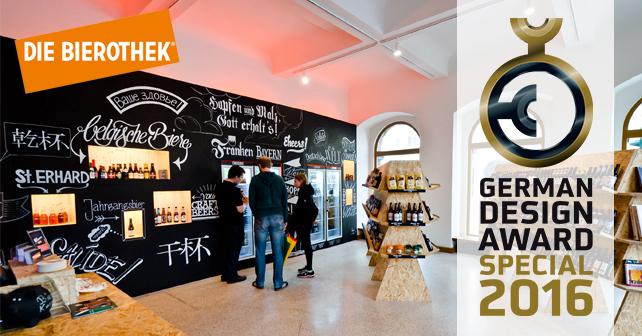 Bierothek® German Design Award