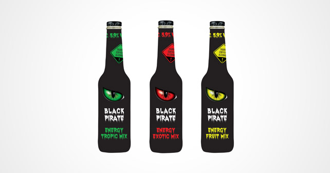 Black Pirate Party Energy Mix
