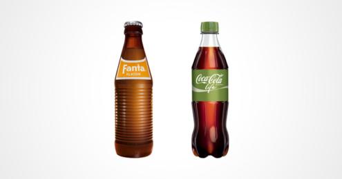 Fanta Klassik Coca-Cola Life Flaschen