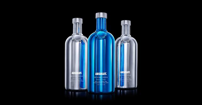 Absolut Vodka Limited Edition Electrik