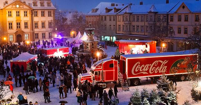 Coca-Cola Weihnachten Truck