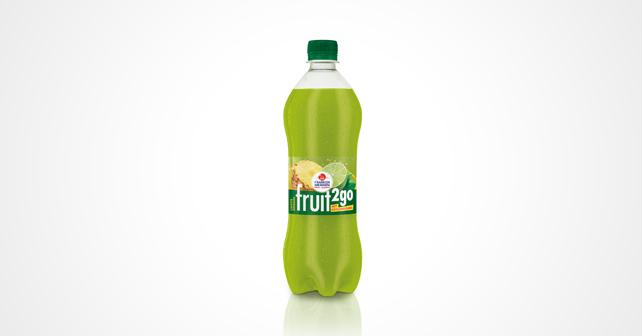 fruit2go Limette-Ananas