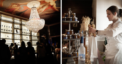 GREY GOOSE FLY BEYOND BAR Boulangerie Francois