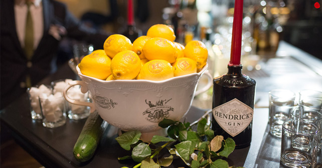 Hendrick's Gin Punch Workshop