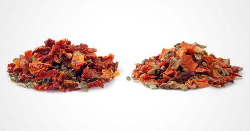 TeeGschwendner Tomate-Paprika und Karotte-Ingwer