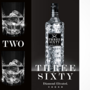 THREE SIXTY VODKA Spot Flasche
