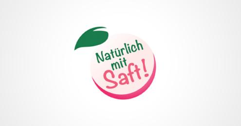 VdF NATÜRLICH MIT SAFT Logo