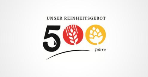 500 Jahre Reinheitsgebot Logo