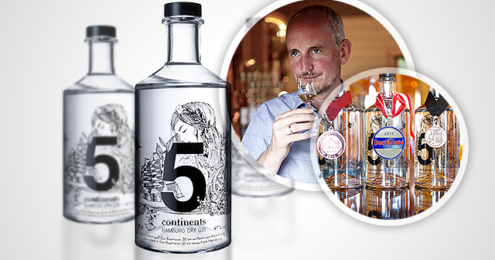 5 continents Gin Teaser