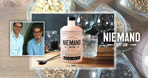 Niemand Dry Gin Teaser