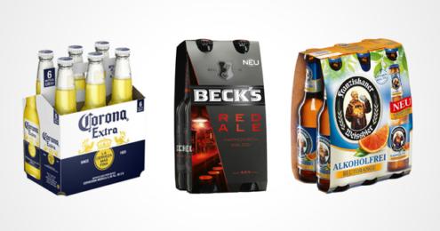 AB InBev Corona Beck's Red Ale Franziskaner Blutorange