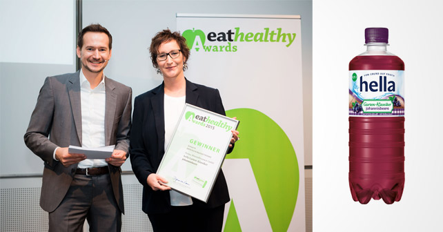 hella gewinnt eathealthy Award 2015 | about-drinks.com