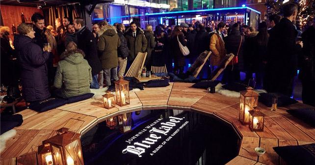 johnnie walker er ffnet m nchner pop up stores mit vip party about. Black Bedroom Furniture Sets. Home Design Ideas