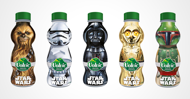 Volvic Star Wars Edition