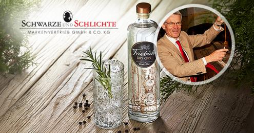 Friedrichs Dry Gin Teaser