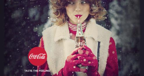 Coca-Cola Taste the Feeling Kampagnenmotiv