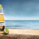 Corona Flasche Strand