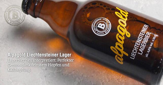 Liechtensteiner Bier Website Relaunch