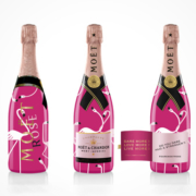 Moët Rosé Flamingo Limited Edition