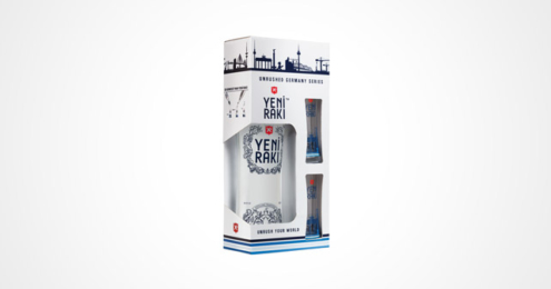 Yeni Raki Geschenkbox City Edition