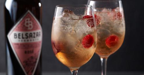 BELSAZAR Vermouth Drink Rosé Royal