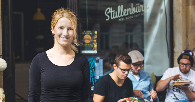 Gastro-Gründerpreis Luisa Dlugay Stullenbüro
