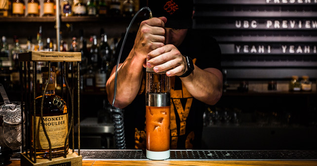 Monkey Shoulder Bar
