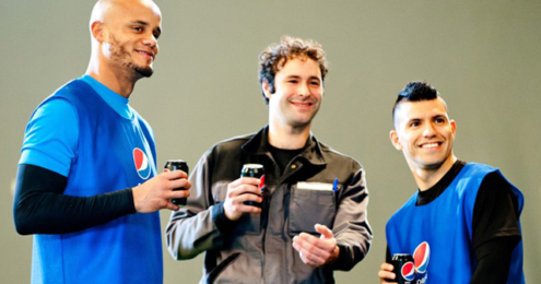Pepsi Max® Blaue Karte Kompany Agüero