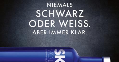 SKYY Vodka Einer Generation weiter Plakat