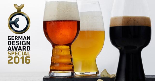 Spiegelau Craft Beer Glasses German Design Award 2016