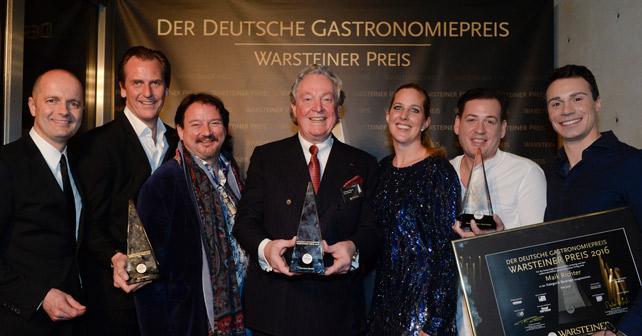 Warsteiner: Deutscher Gastronomiepreis 2016