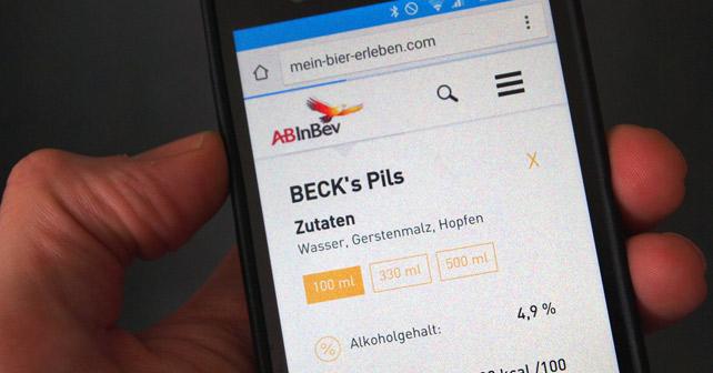 AB InBev mein-bier-erleben.de