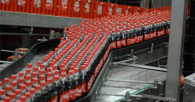 Coca-Cola Abfüllanlage