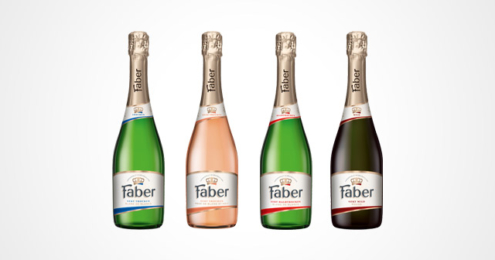 Faber Sekt Design-Relaunch