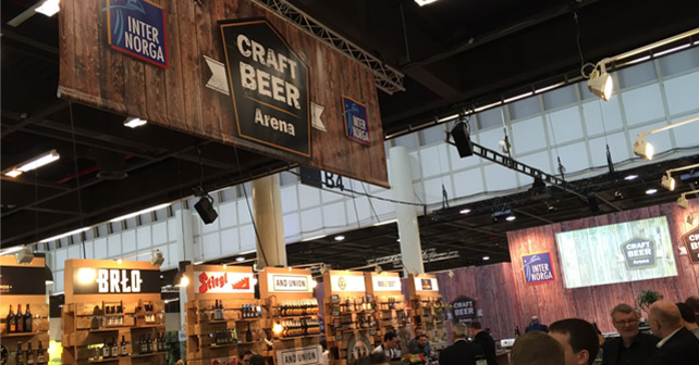 ITNERNORGA 2016 Craft Beer Arena