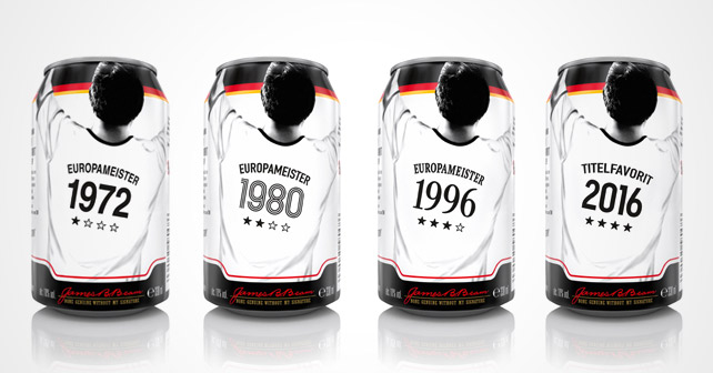 Jim Beam & Cola EM-Sonderedition