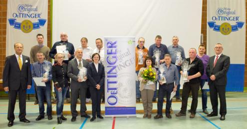 Oettinger Betriebsversammlung Ehrungen