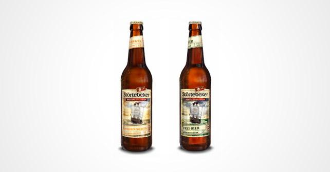 Störtebeker Bernstein-Weizen Frei-Bier Alkoholfrei