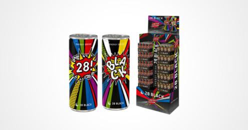 28 BLACK Limited Edition Dosen Display