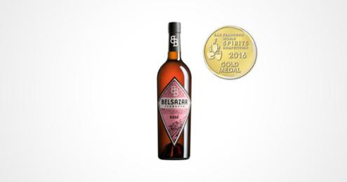 BELSAZAR Vermouth Rosé Gold WSC 2016