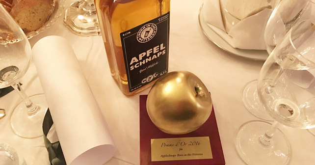 Born In The Wetterau Apfelschnaps Pomme d'Or 2016