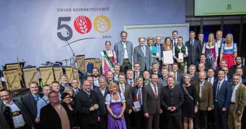 Bundesehrenpreis 2016 Brauereien