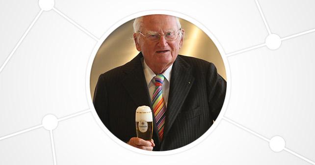 Krombacher Brauerei Seniorchef Friedrich Schadeberg