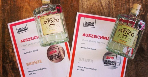 MEZCAL ATENCO Craft Spirits Award 2016