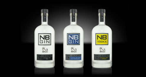 NB Gin Vodka neues Flaschendesign