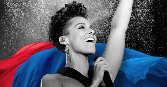Pepsi UEFA Champions League Finale Alicia Keys