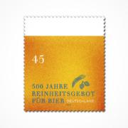 Sonderbriefmarke Jubiläum Reinheitsgebot
